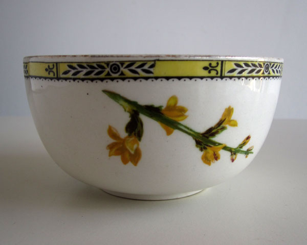 Flower bowl - possiby earlier than C20th? Yellow10
