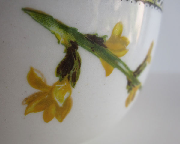 Flower bowl - possiby earlier than C20th? Yellow11