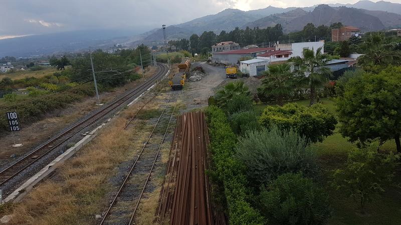 Ferrovia Messina - Catania - Siracusa 20170921