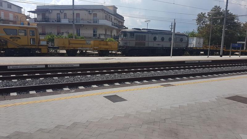 Ferrovia Messina - Catania - Siracusa 20170922