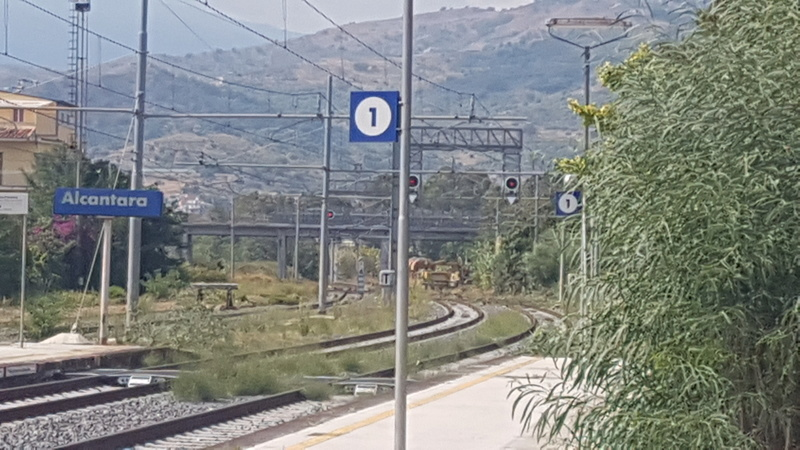Ferrovia Messina - Catania - Siracusa 20170928