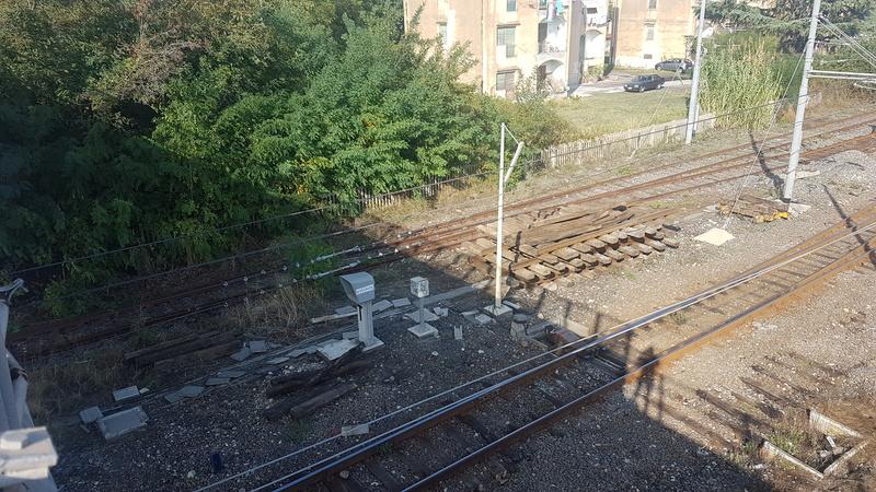 Ferrovia Messina - Catania - Siracusa 20171010
