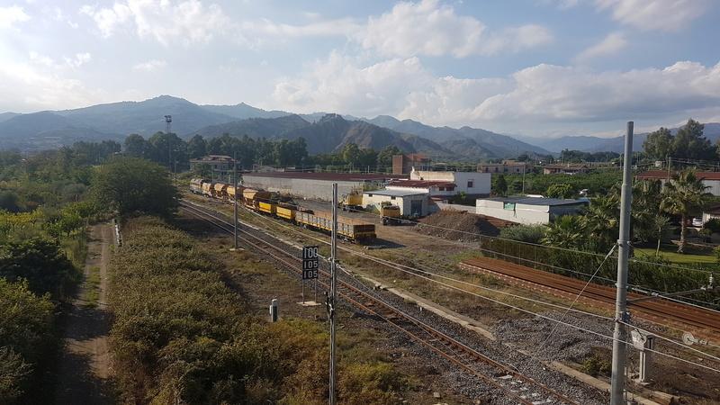 Ferrovia Messina - Catania - Siracusa 20171011
