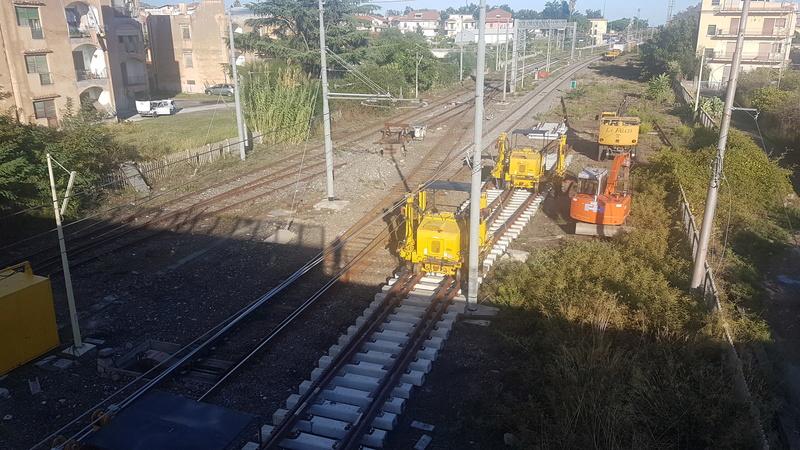 Ferrovia Messina - Catania - Siracusa 20171012