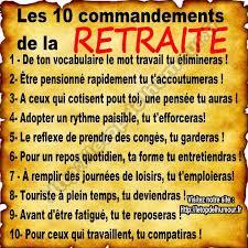 10 commandements de la retraite Tylych10