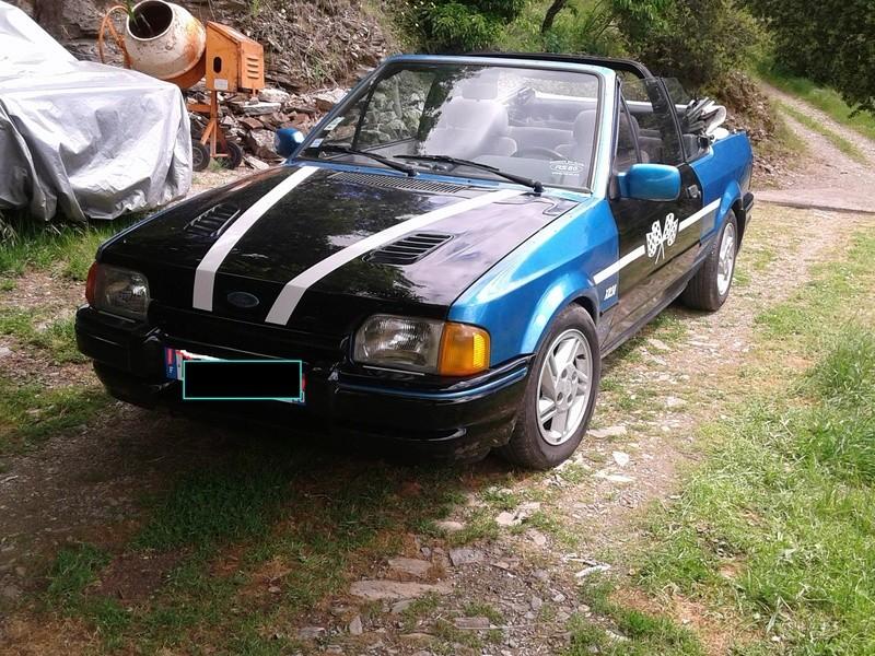 restauration XR3I Cab sur la rouille  Ford_e11