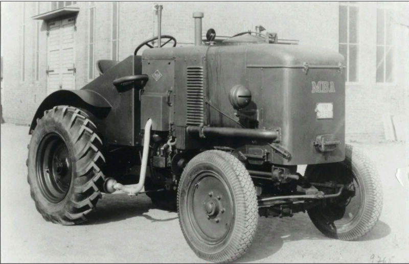 tracteur agricole gazo Mba10