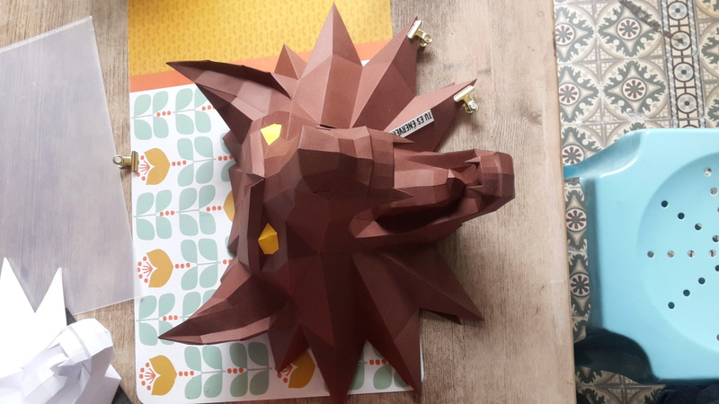 Papercraft lowpoly 20170310