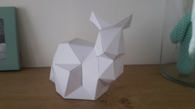 Papercraft lowpoly 20170710