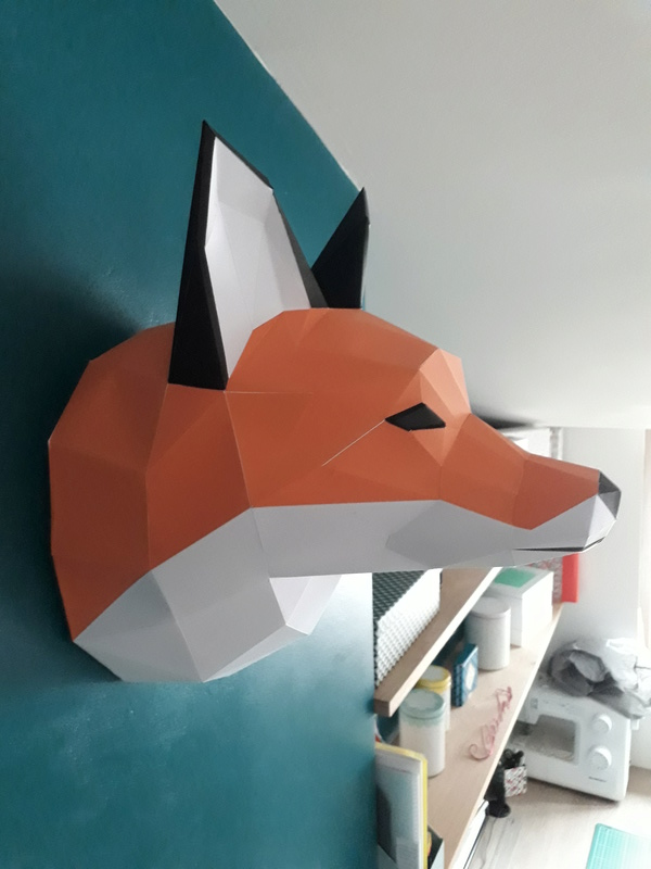 Papercraft lowpoly 20170911