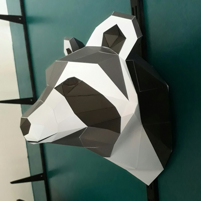 Papercraft lowpoly 20170922