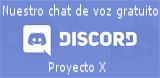 Chat y voz en vivo gratuito Proyecto X