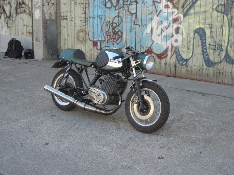 Transformations Cafe Racer 9010