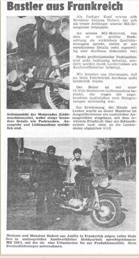 Revue de presse MZ  Schein10