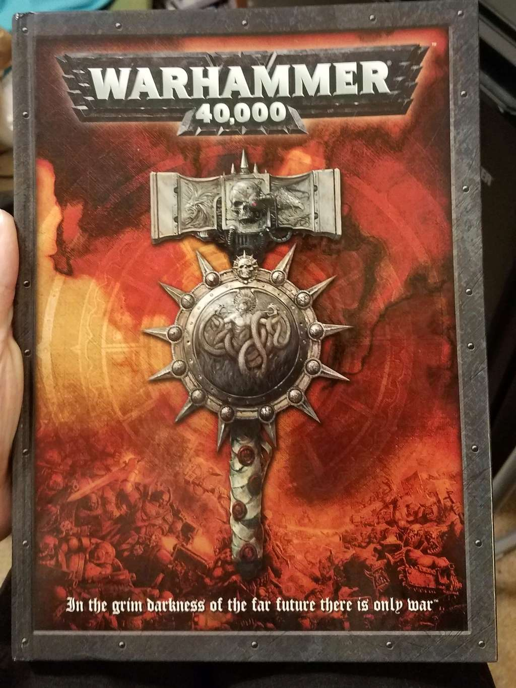 Got a 5th edition rulebook 20170817