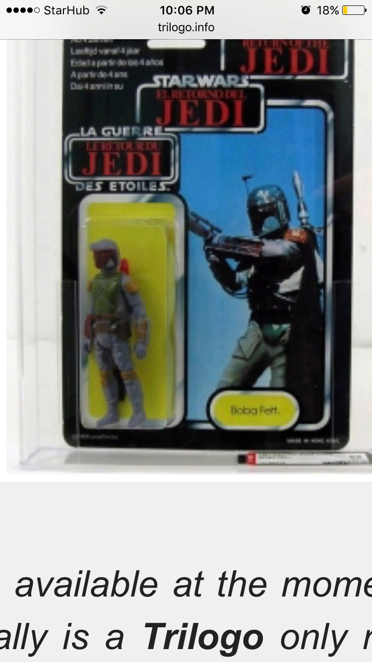 Meccano boba fett with translucent rocket Img_1218