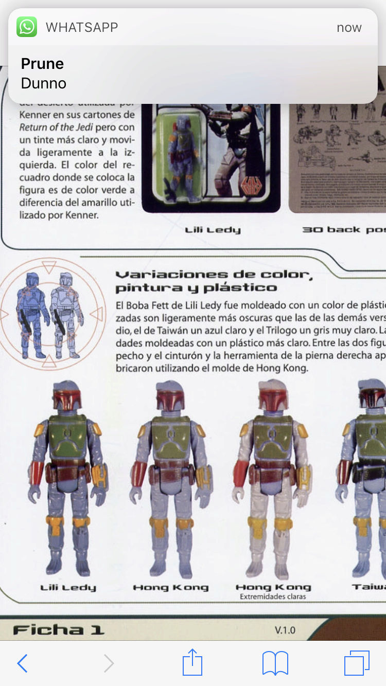 Boba Fett Loose variant – In depth discussion about discoloration and yellowing - Page 4 Img_1320