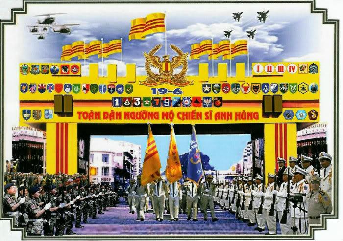Kỷ niệm lịch sử văn hóa của QLVNCH có những ngày Quốc Khánh và ngày Quân Lực... 9-ngyo13