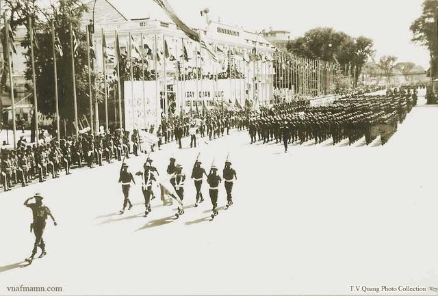 Kỷ niệm lịch sử văn hóa của QLVNCH có những ngày Quốc Khánh và ngày Quân Lực... Ngyoy-16