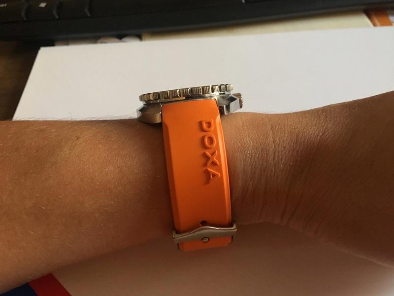 Presentando Doxa 1200t Searambler Img_8513