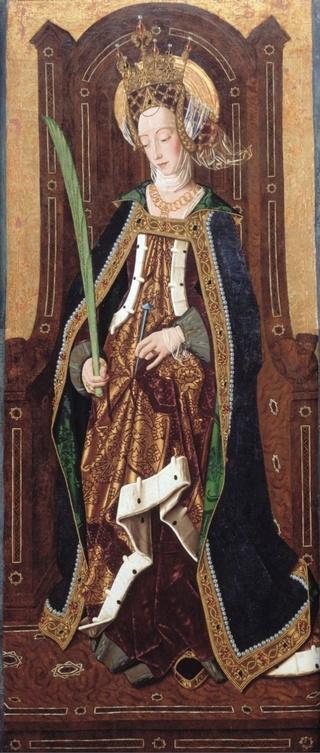 Sta Engracia de Zaragoza / Virgen del Pilar y Santiago apóstol. [R.M. S.XVII- 0440](MAM) Engrac11