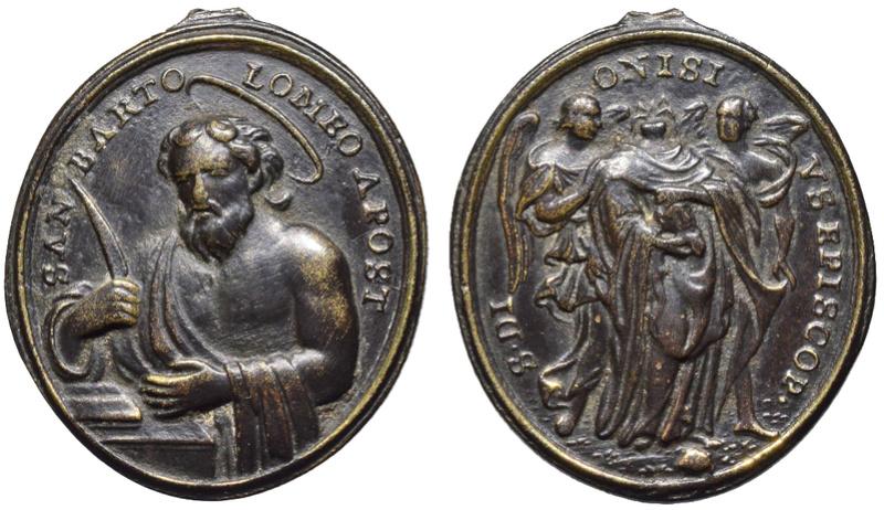San Bartolomé Apóstol / San Dionisio de París ( R.M. SXVIII-O361) O-30110