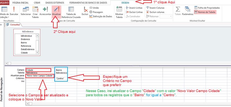 Mudar varios campos de uma tabela de uma unica vez. Sem_ty18