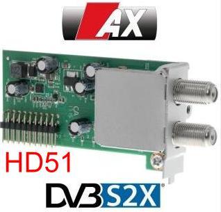 Receptoare 4K - Mut@nt 51HD acelasi cu AX HD51 4K 110