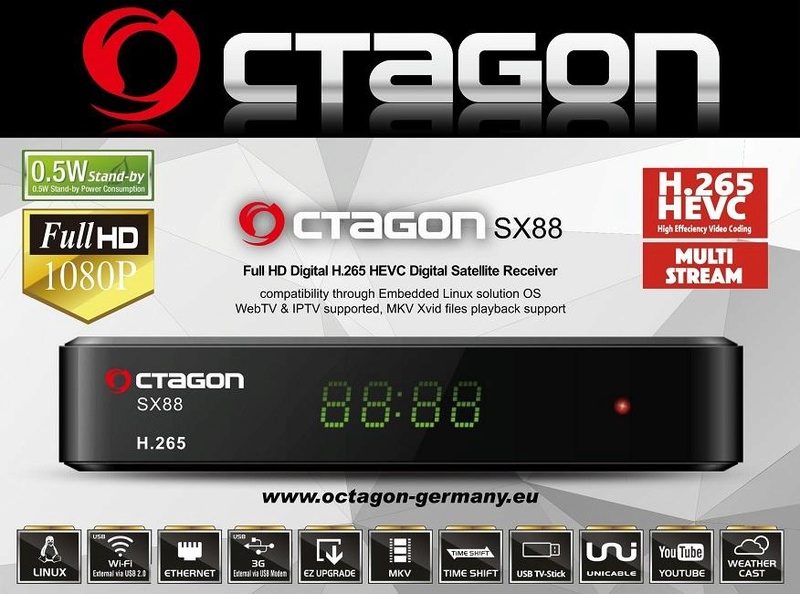 OCTAGON SX88 H.265 HEVC HD 39043010