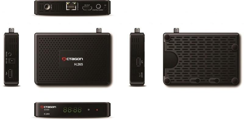 OCTAGON SX88 H.265 HEVC HD 93217710