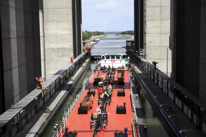 Schiffshebewerk Scharbebeck Scharn15