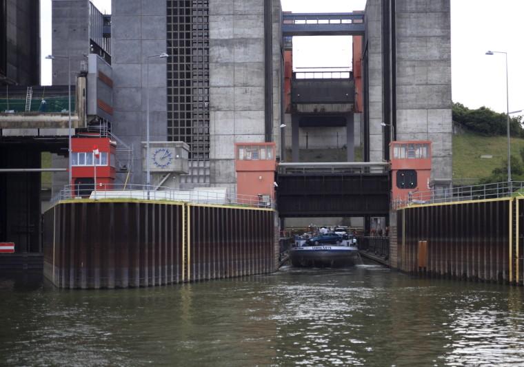 Schiffshebewerk Scharbebeck Scharn16