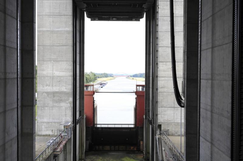Schiffshebewerk Scharbebeck Scharn27