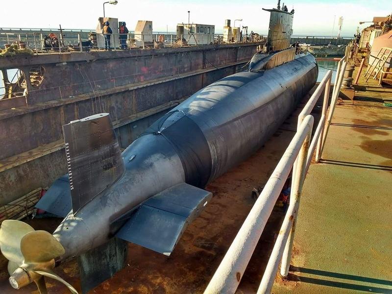 Submarino IKL Clase 209-1200 ARA Salta (S-31) - Página 2 20604410
