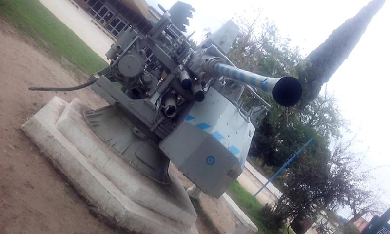 Montaje Simple Bofors 40mm MK.VII - Colón Entre Rios Cameri25