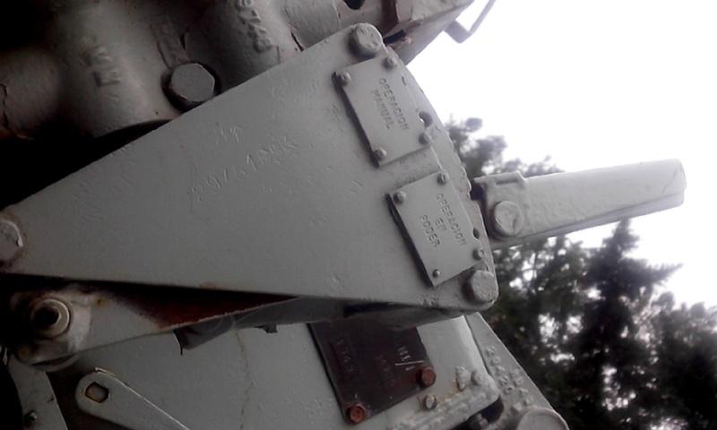 Montaje Simple Bofors 40mm MK.VII - Colón Entre Rios Cameri35