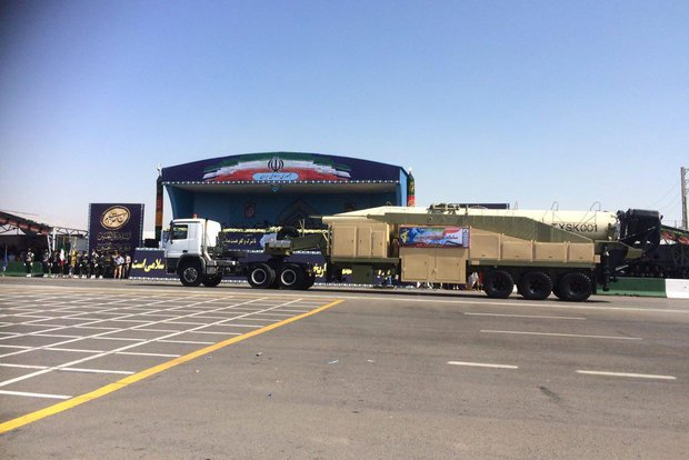 Irán dio a conocer el misil balístico Khorramshahr  Khoram10