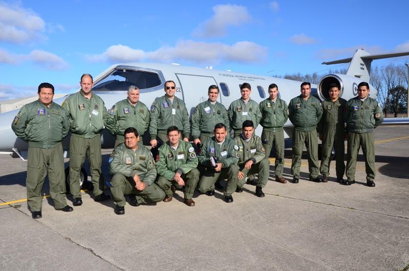 "Ejercicio ""Cobra""- Fuerza Aérea Argentina Learje10"
