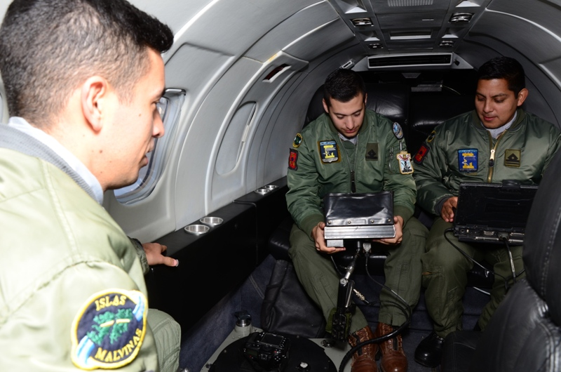 "Ejercicio ""Cobra""- Fuerza Aérea Argentina Learje11"