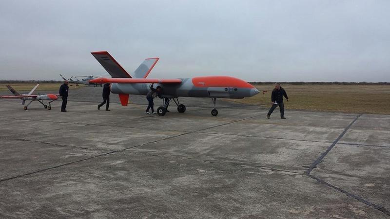 Vigia 2a, el nuevo MALE de la FAA  Vigia210