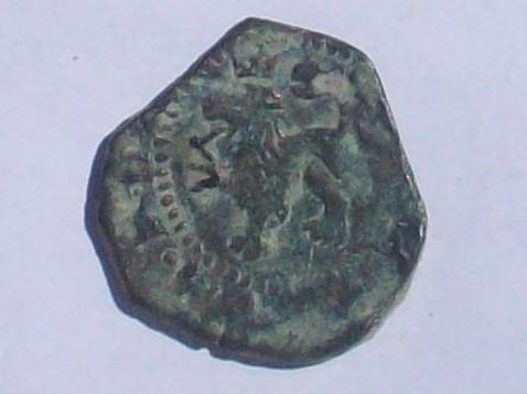 dos maravedís de Felipe II ceca de cuenca 102_4138