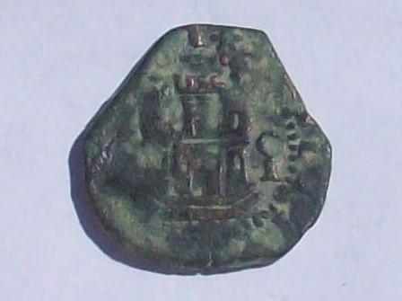dos maravedís de Felipe II ceca de cuenca 102_4139
