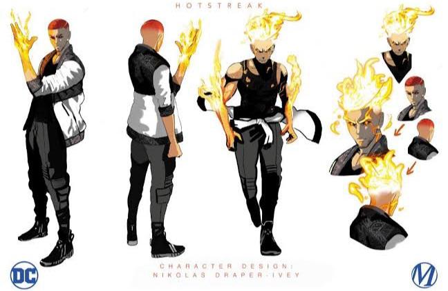 HotStreak (DC) e El Diablo (DC) Vs Chamas (Ben 10) e Fogo Fátuo (Ben 10)  20210617