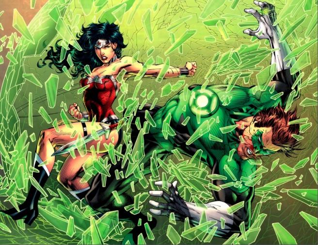 Mulher Maravilha vs Lanterna verde  Diana-10