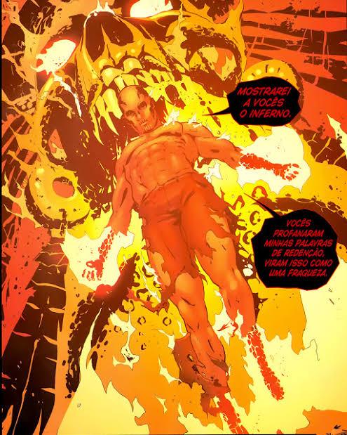 HotStreak (DC) e El Diablo (DC) Vs Chamas (Ben 10) e Fogo Fátuo (Ben 10)  Image170