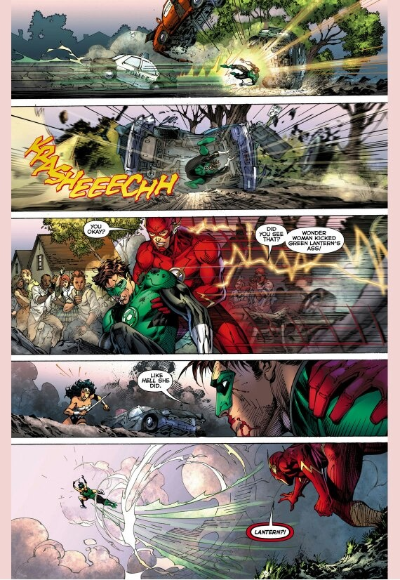 Mulher Maravilha vs Lanterna verde  Main-q12