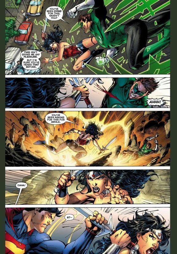 Mulher Maravilha vs Lanterna verde  Main-q13