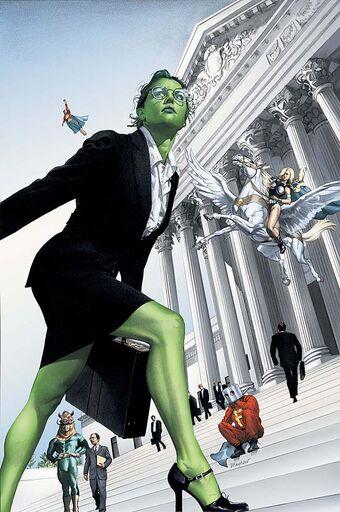 Vixen vs She Hulk  She-hu10