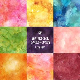 Watercolor Textures   تكسترات ألوان مائية 16002910