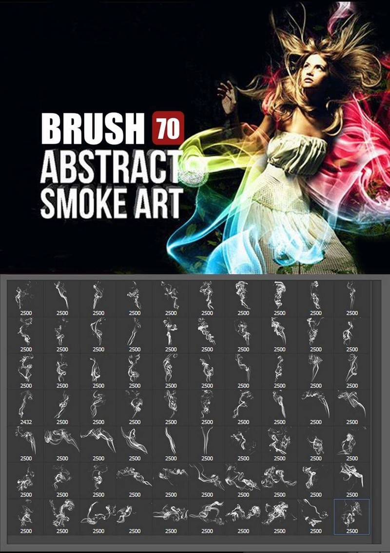 فرش فوتوشوب . فرش دخان للتصميم احترافية . Brush Abstract Smoke Art - صفحة 2 19693710